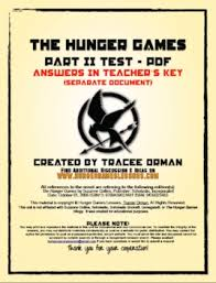 hunger games part test review activity essay test by tracee orman hunger games part 2 test review activity essay test