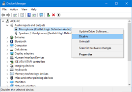 Turn Off Computer How To Disable Or Turn Off The Microphone In Windows 10