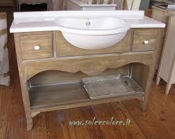Mobili da bagno legno grezzo ~ mobilia la tua casa