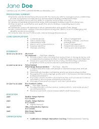 Resume Templates: Life Coach