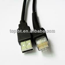 motorola ls2208. grey barcode scanner cable for motorola symbol ls2208 ls1203 ls7708 ls4008i ls3408 ls4208 barcode scanner cable ls2208
