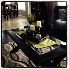 Decorating With Trays On Coffee Tables Coffee table decor like the pop of color under the tray 28