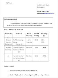 Bsc Resume Format – Resume Example Collection