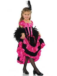 Can Can Girls Black And Pink Costume