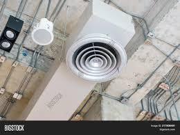 Duct Line Design Building Interior Air Image Photo Free Trial Bigstock