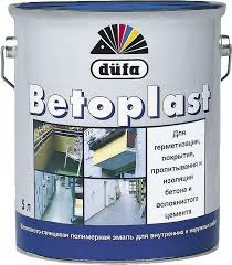 <b>Эмаль для бетонных полов</b> полуматовая düfa BETOPLAST