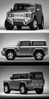 2020 Ford Bronco Concept Combines Old with New, Classic Round ...