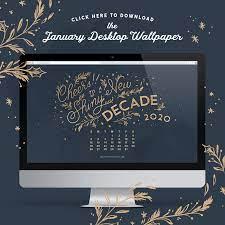 January 2020 Desktop Wallpaper – Paper ...