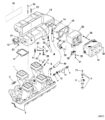 Intake manifold and intake plenum