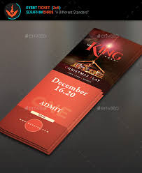 Play Ticket Template 15 Silent Night Christmas Ticket Examples Psd Ai Word