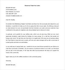 Thank You Letter To Vendor For Support