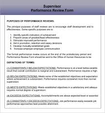 Performance Reviews Samples Employee Performance Evaluation Samples Template Business