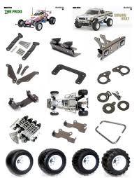 Parts Of A Frog Vitanew Aluminum Option Parts For Tamiya 2wd Frog Subaru Brat Rc Car