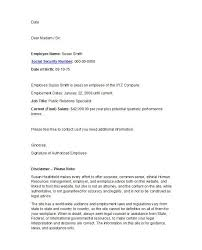 Letterhead For Employment 40 Proof Of Employment Letters Verification Forms Samples
