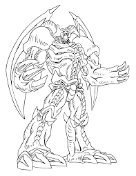 Small Picture Free Printable Yugioh Coloring Pages For Kids