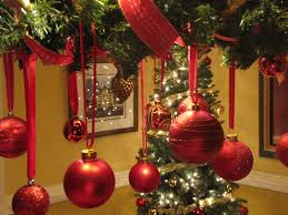 Christmas Tree Decoration Red And Gold Theme Decorations