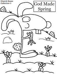 presultaat vir clipart spring kindergarten colouring pages