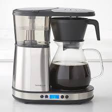 bonavita 8 cup coffee brewer with glass carafe