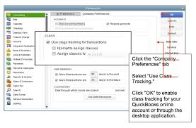 How To Use Class Tracking In Quickbooks Quickbooks