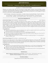 Accounting Clerk Resume Objective Best of Accounts Receivable Clerk Resume Examples Doc Accounting Accounting