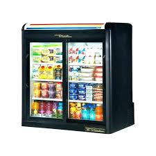 good door commercial fridges fridge used glass under bench garage and