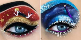 checkout these top 10 most beautiful eye makeup designs amazing creativity pics story