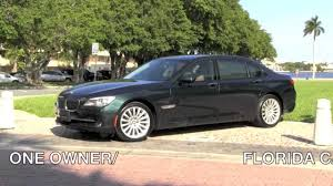 Coupe Series 2010 bmw 750 for sale : 2010 BMW 750Li xDrive Deep Green Metallic Autos of Palm Beach ...