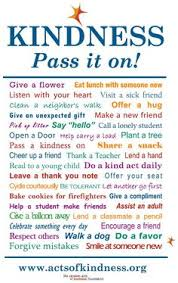 random acts of kindness good template and could be modified for random acts of kindness good template and could be modified for use high school students random acts of kindness high school students