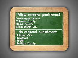 johnson city press corporal punishment area schools policies mixed