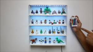 how to add 5050 rgb led light strip to lego minifigure display case w rbg controller you
