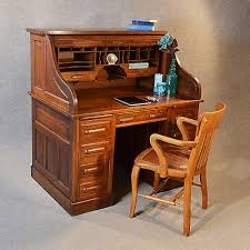 office bureau desk. Office Bureau Desk. Antique Roll Top Writing Desk Oak Edwardian Globe Wernicke Rolltop C1910 N