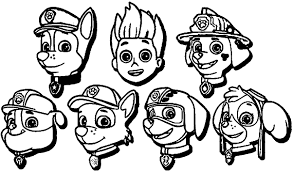New Paw Patrol Coloring Pages To Print Zuma Nyc Reservations Paw