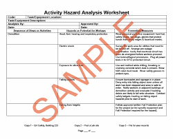 Job Site Analysis Template Enchanting NASA Ames Research Center APG4848 Chapter 48
