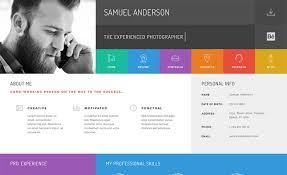 Gridus Vcard Cv Resume Wordpress Theme Csslight