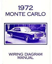 amazon com 1972 chevrolet monte carlo electrical wiring diagrams 2004 chevy monte carlo wiring diagram at Chevy Monte Carlo Wiring Diagrams