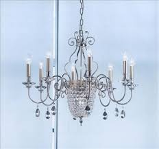chandelier suspension collection with centre crystal