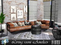 Aifirsa Sims: Livingroom Amelia • Sims 4 Downloads
