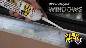 Best Window Caulk How To Seal Your Windows With Flex Shot Official Site Flex