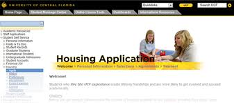 how to apply housing and residence life ucf step ii housing application welcome