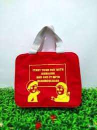 tas promosi star your day with bismillah