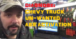 Chevy Truck ABS Problems / Unwanted ABS Activation - YouTube
