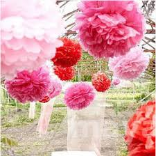 Paper Flower Centerpieces At Wedding 5 6 10 Inch 15multi Colors Wedding Paper Flowers Ceremony Decorations For Paper Poms Wedding Birthday Valentine S Day Giant Crafts Pom Poms