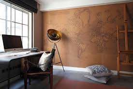 view in gallery beautiful home office design with a world map backdrop backdrops d31 backdrops