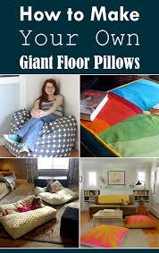 floor cushions diy. Perfect Cushions Inside Floor Cushions Diy I