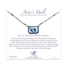 forever bluebird vault necklace