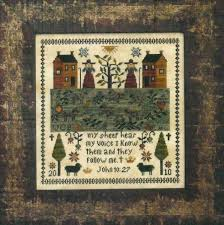 And They Sinned Cross Stitch Chart Examplar Dames Examplars From The Heart Counted Cross Stitch
