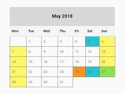 Calendar Generator Basic Year Calendar Generator With Jquery Full Year Calendar Js