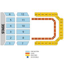 Seating Chart Bill Graham Civic Auditorium