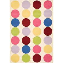 catchy polka dot area rug harriet bee claro polka dot area rug reviews wayfair