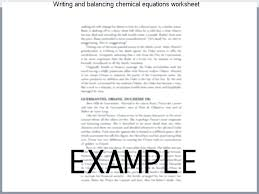 writing and balancing chemical equations worksheet chemistry how to write a balanced equation given understanding learn